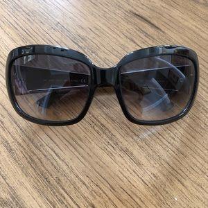 JIMMY CHOO Trixie/S Wood Striped NSR Sunglasses